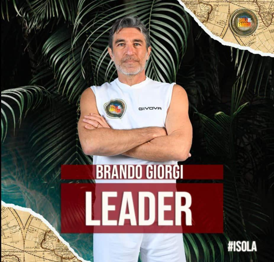 All'Isola 2021 Brando Giorgi leader ed equilibri cambiati: i tre nominati