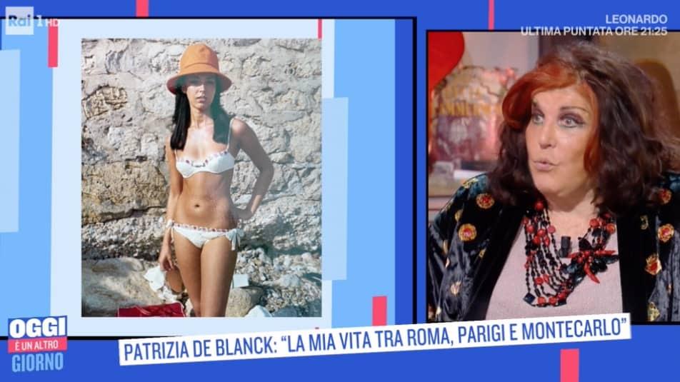 Bellissima da giovane Patrizia De Blanck ma per sua madre era una rivale (Foto)
