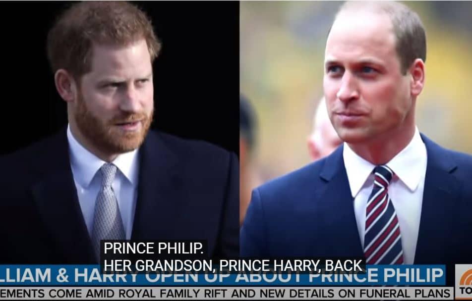 Tra Harry e William nessun incontro prima del funerale di Filippo: Kate tenta di mediare