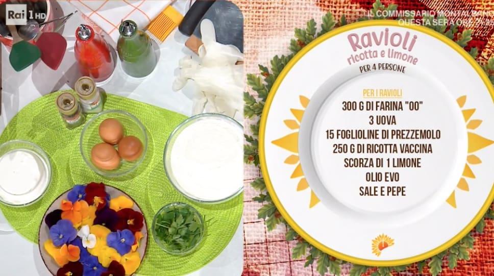 Ravioli ricotta e limone, la ricetta di Mattia e Mauro Improta con seppie e carciofi