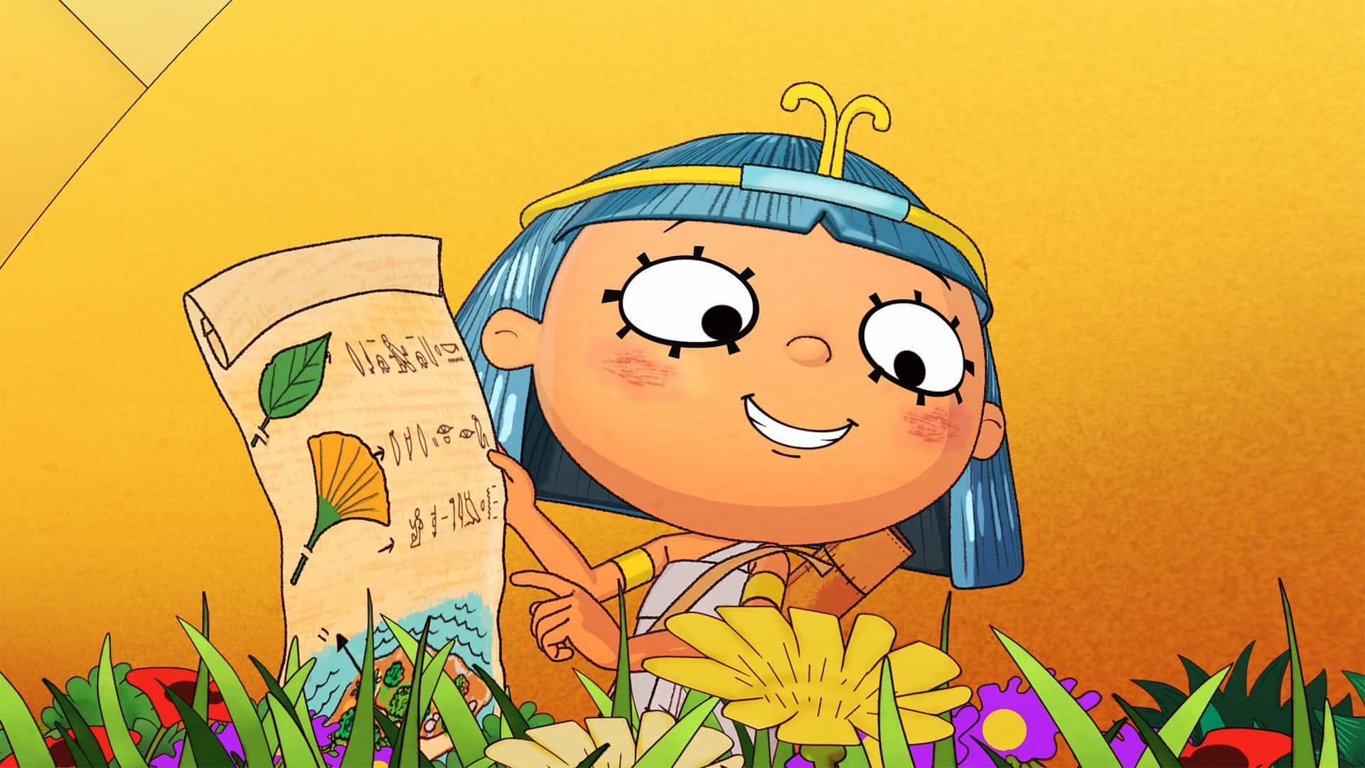 Nefertina sul Nilo la nuova serie animata per Rai Yoyo