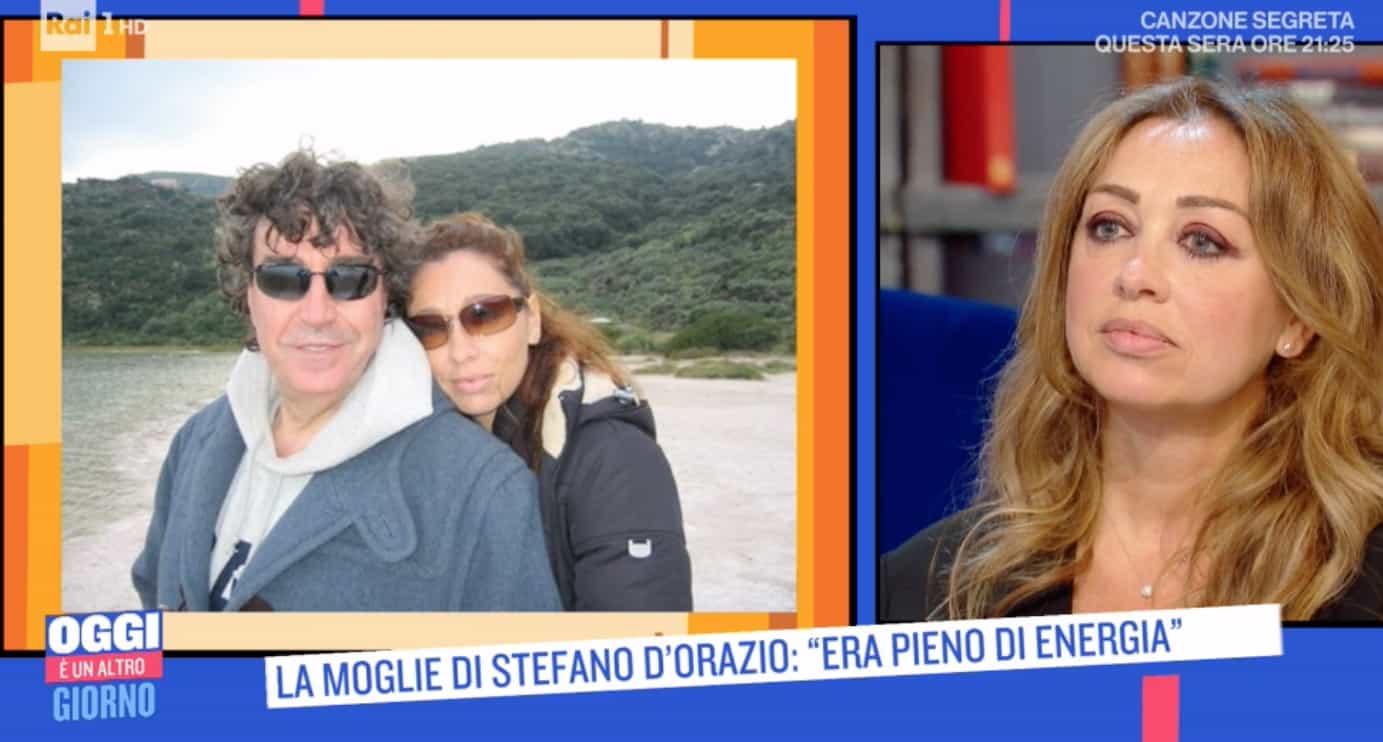 L'ultimo biglietto scritto da Stefano D'Orazio alla sua Tiziana (Foto)