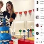 Melissa Satta e Boateng festeggiano insieme il compleanno del figlio dopo la separazione (Foto)