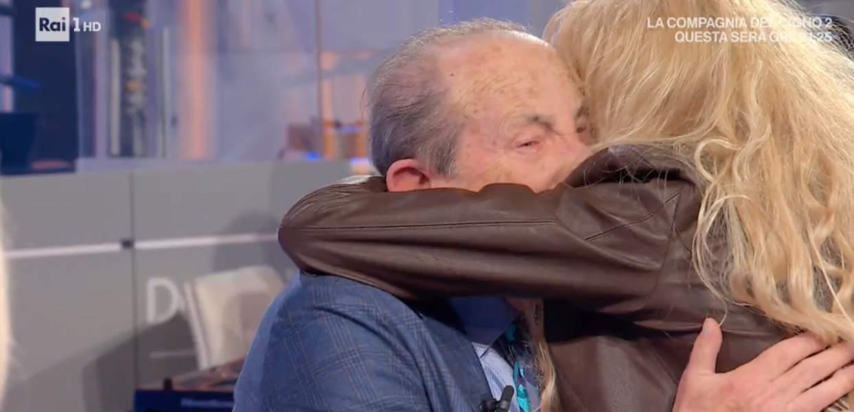 """Franco Gatti con i Ricchi e Poveri a Domenica In: """"Adesso sto bene"""""""