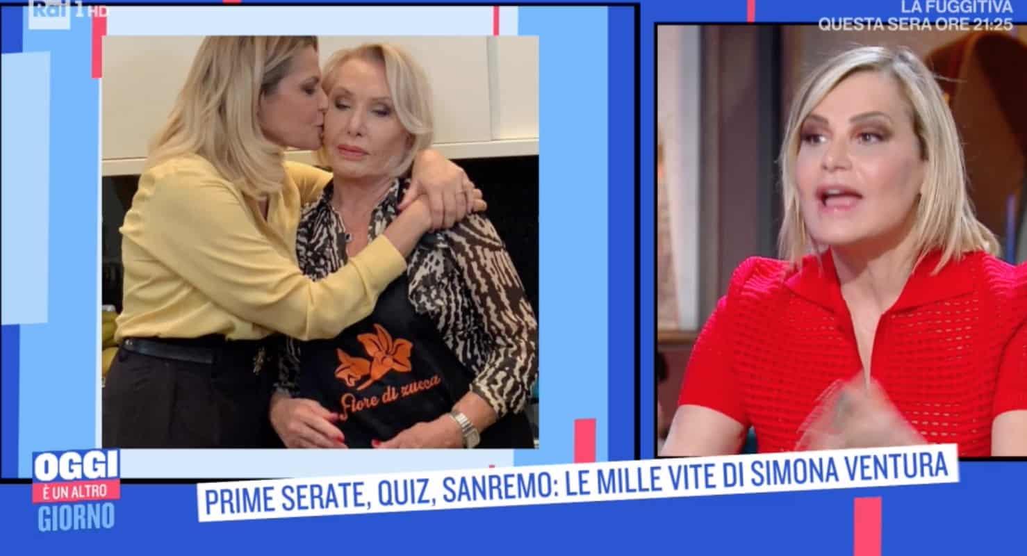 L'emozione di Simona Ventura sempre tradita ma Giovanni Terzi le fa un'altra dichiarazione d'amore (Foto)