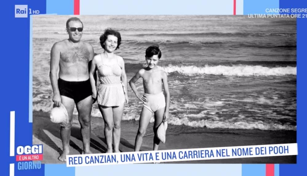 Red Canzian ricorda la famiglia poverissima ma felice (Foto)