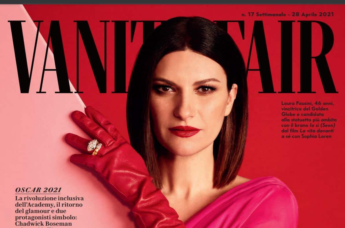 """Laura Pausini su Vanity Fair: """"E' la musica che mi ha salvata tante volte"""""""
