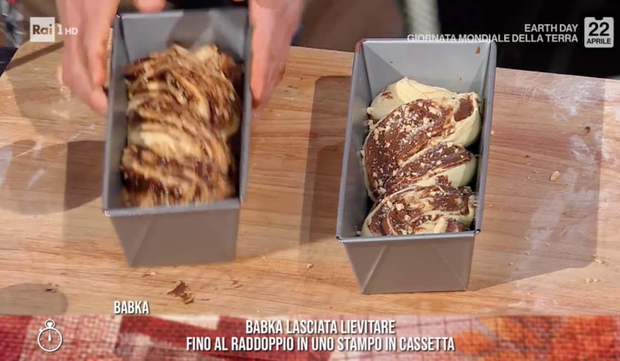 Pane dolce con la nutella, la ricetta di Fulvio Marino del babka