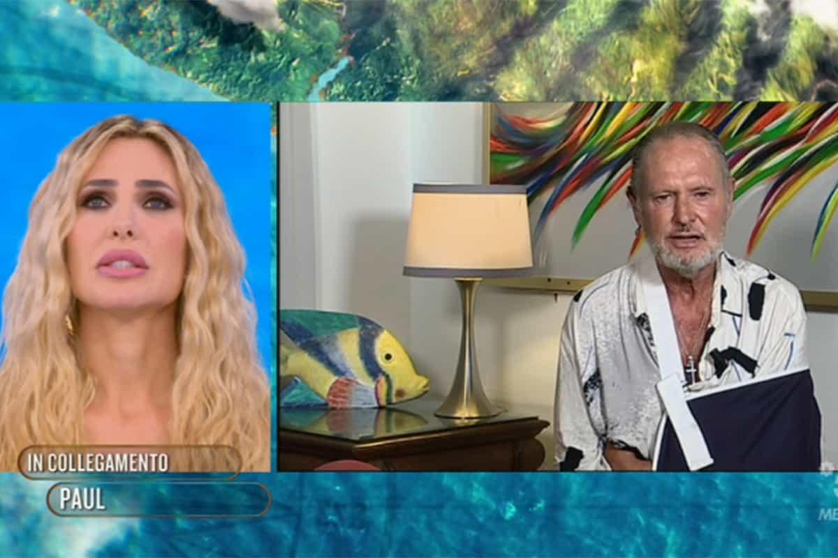 """L'Isola dei Famosi 2021: Paul Gascoigne ritirato per infortunio e accusato di """"furto"""" dalla produzione"""