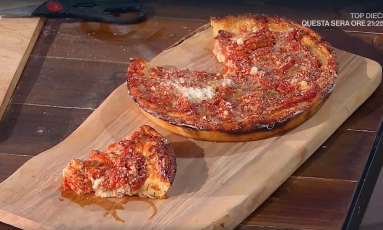 Pizze Fulvio Marino, la ricetta della pizza Chicago Style