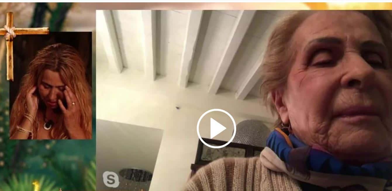 Per Valeria Marini sorprese e lacrime con sua mamma a Supervivientes