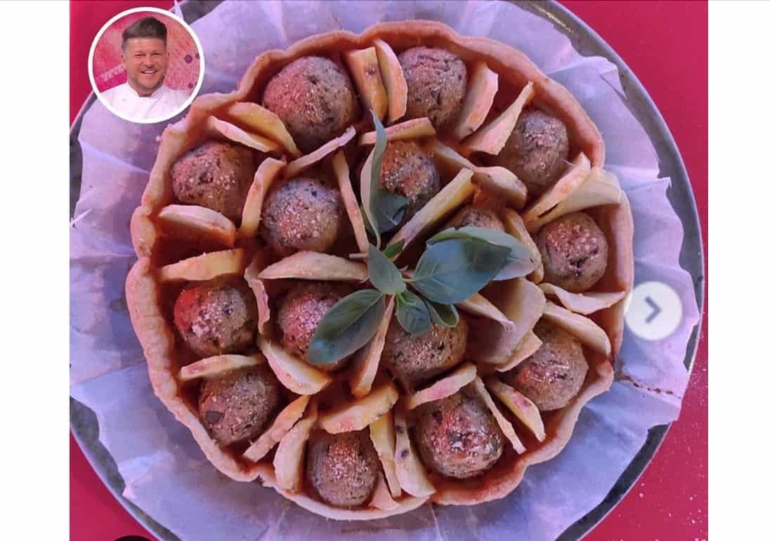 Torta di polpette, la ricetta di Diego Bongiovanni