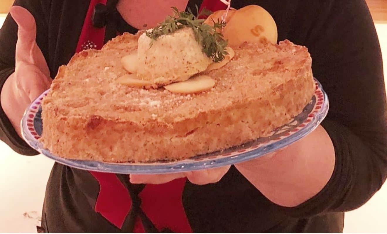 Il gattò di patate con la nuova ricetta di Angelica Sepe