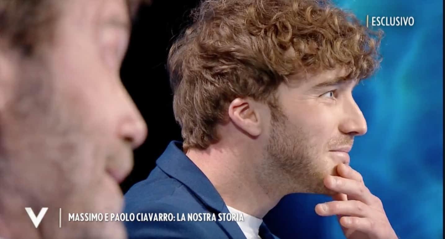 Paolo Ciavarro non ricorda la mamma e il padre insieme, a Verissimo la loro storia