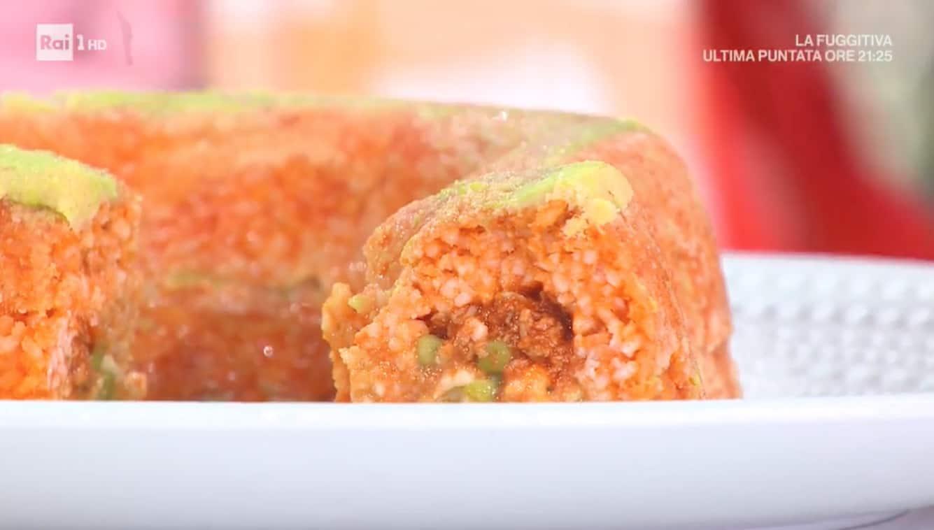Sartù di riso ai piselli, la ricetta di Roberto Di Pinto