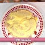 Ricette Marco Bianchi: torta all'acqua con crema senza uova