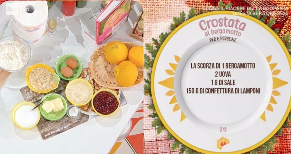 Crostata con crema al bergamotto, ricetta di Zia Cri