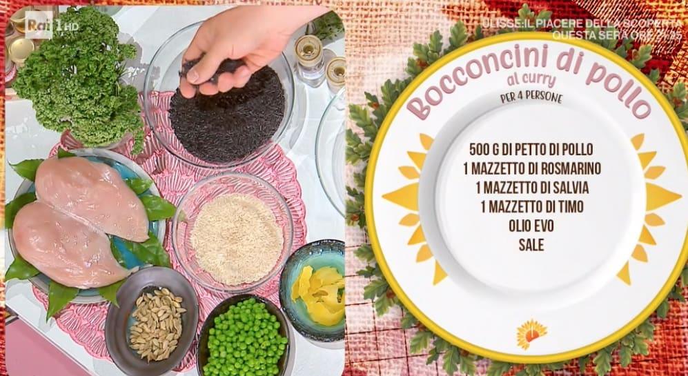 Bocconcini di pollo al curry la ricetta di Gian Piero Fava