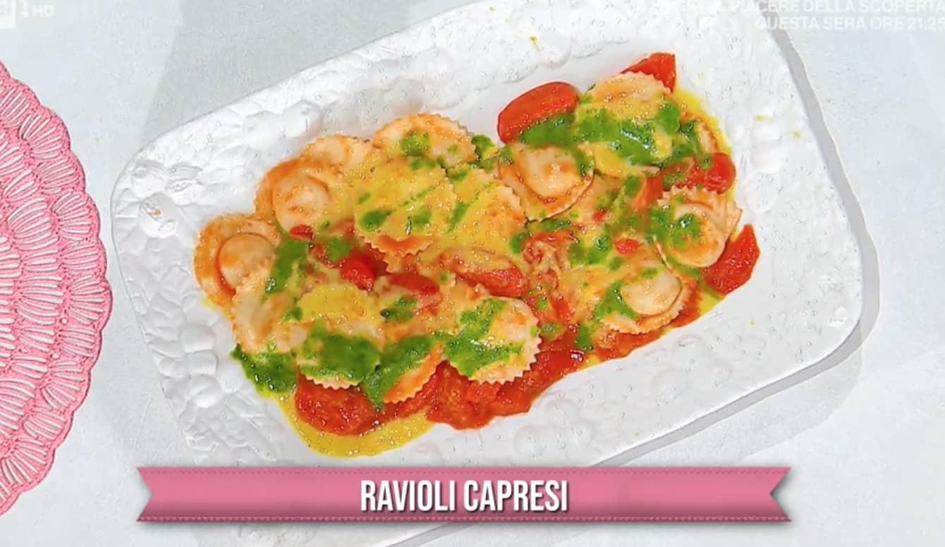 Ravioli capresi, la ricetta di Mattia e Mauro Improta