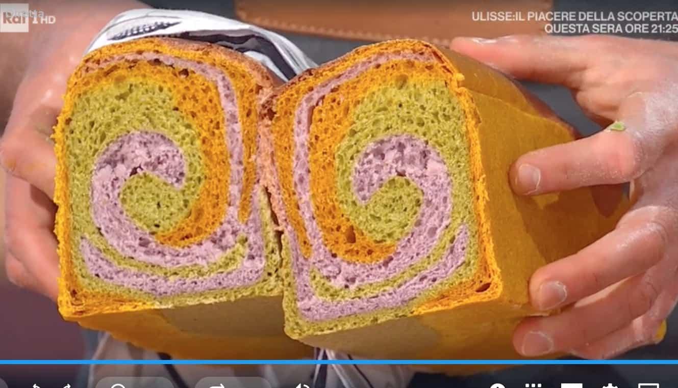 Ricette Fulvio Marino: pane colorato agli estratti