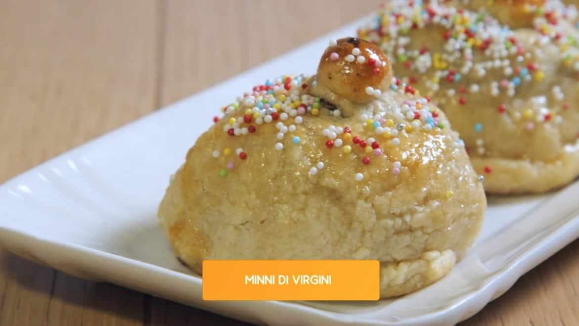 Minni di virgini, la ricetta dolce di Giusina in cucina