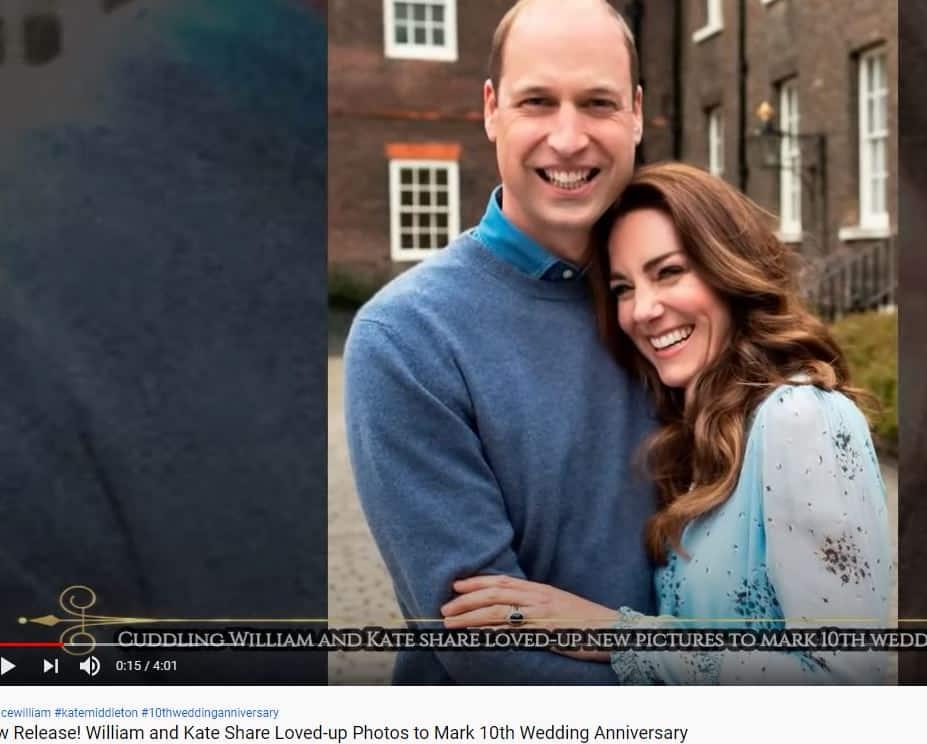 10 anni d'amore per William e Kate Middleton: si festeggia con scatti d'amore