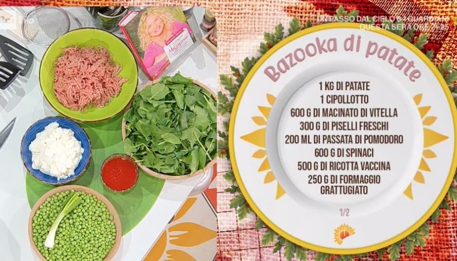 Bazooka di patate, la ricetta di Simone Buzzi