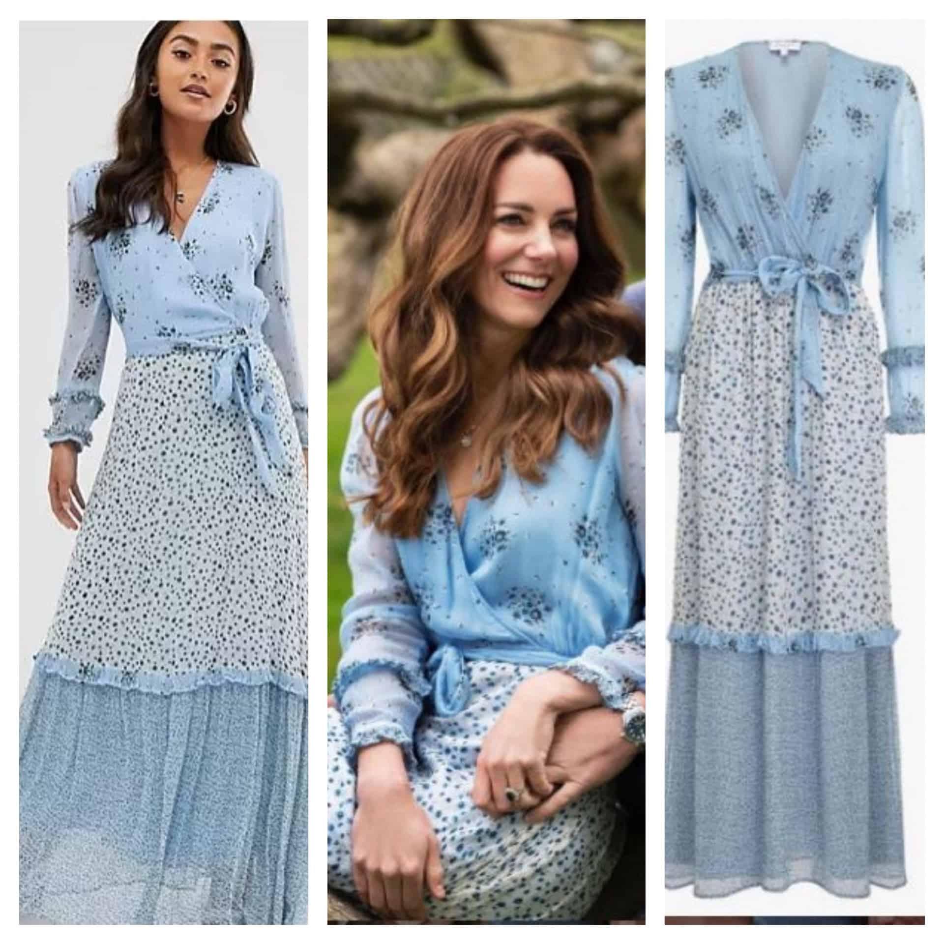 """Per Kate Middleton un abito acquistabile su Asos e """"riciclato""""  nelle foto dell'anniversario"""