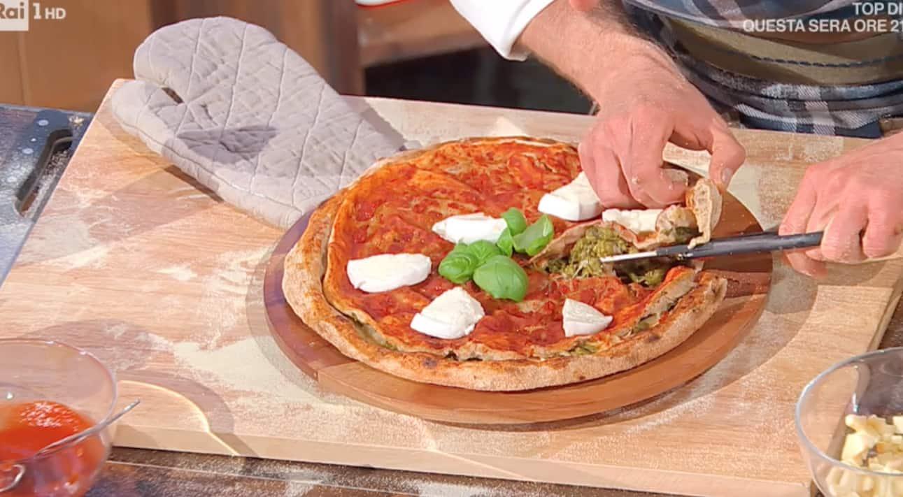 Pizza multistrato con sorpresa, la ricetta di Fulvio Marino