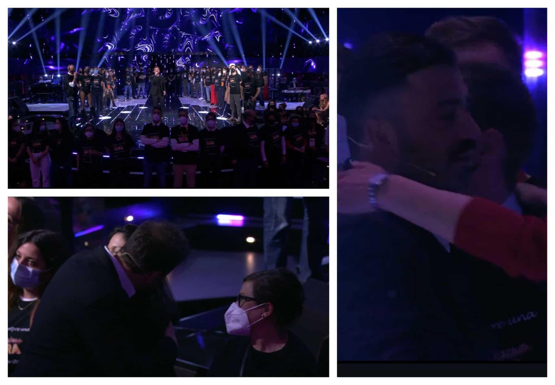 Pio e Amedeo regalano l'abbraccio più bello ai lavoratori dello spettacolo tra lacrime e commozione