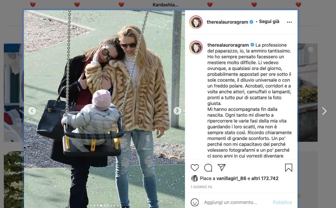 Aurora Ramazzotti difende i paparazzi: anche lei contro Diletta Leotta?