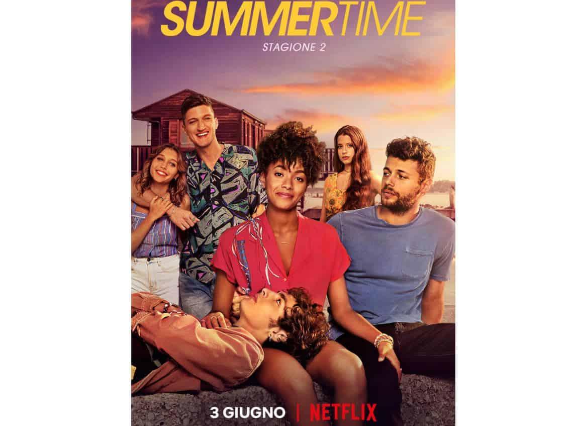 La seconda stagione di Summertime arriva su Netflix: la data e trama