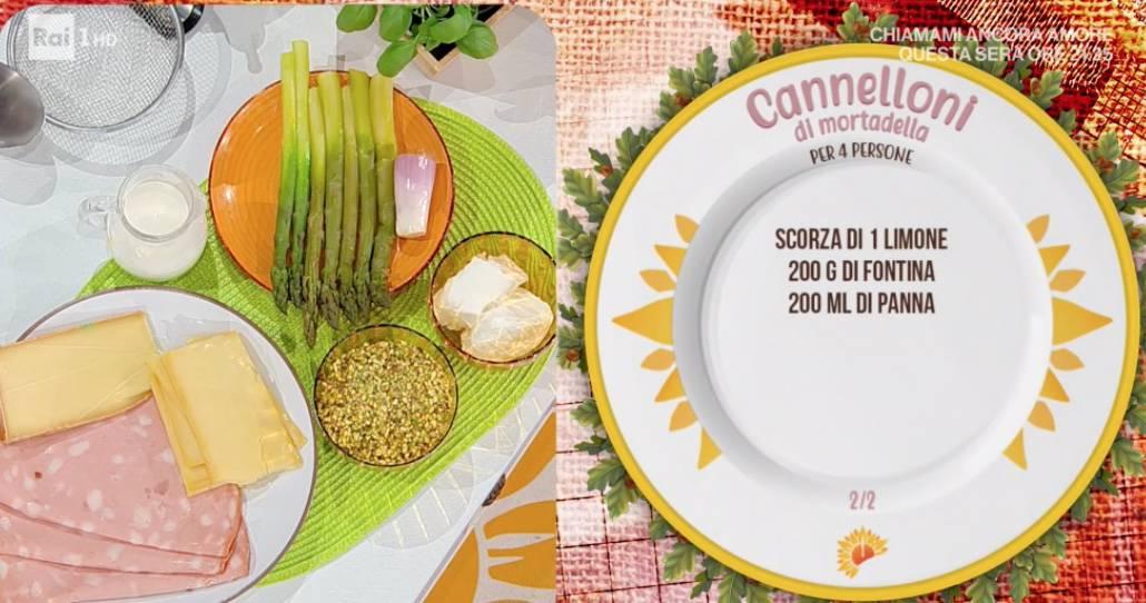 Cannelloni di mortadella, la ricetta di Simone Buzzi