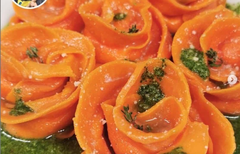 Rose di ravioli, la ricetta di Beniamino Baleotti