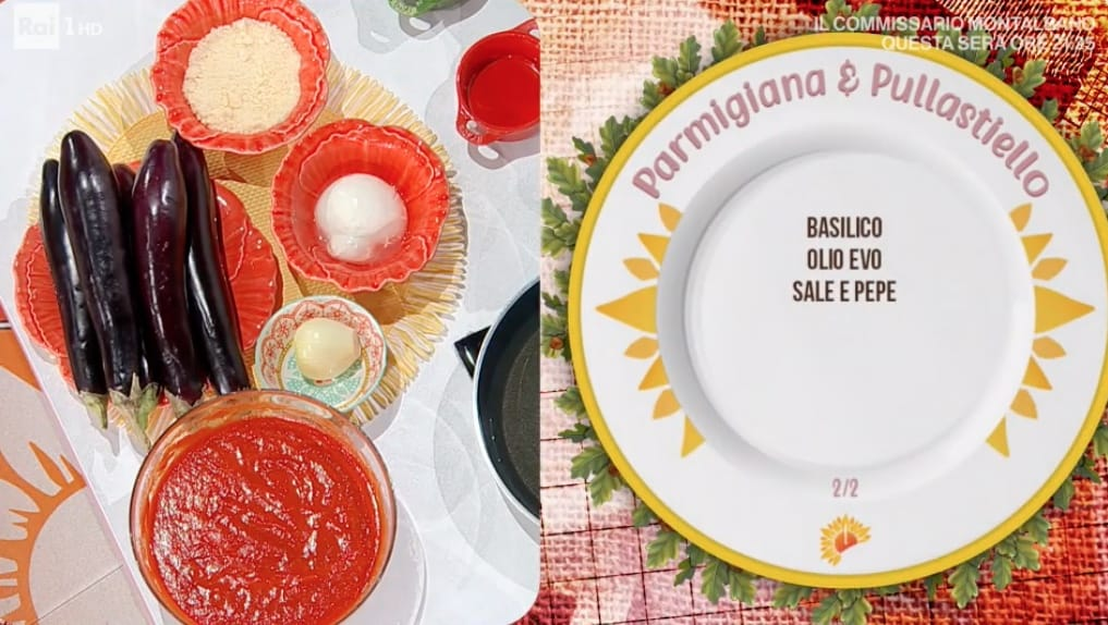 Parmigiana e pullastiello, le ricette con le melanzane di Mattia e Mauro Improta