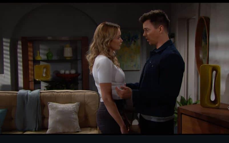 Beautiful anticipazioni: Wyatt sta con Flo ma vuole aiutare Sally, c'è un inganno dietro?