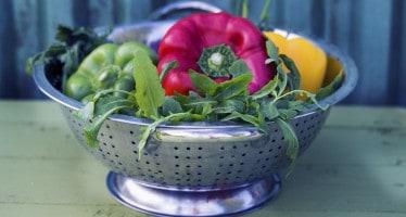 colino con verdure
