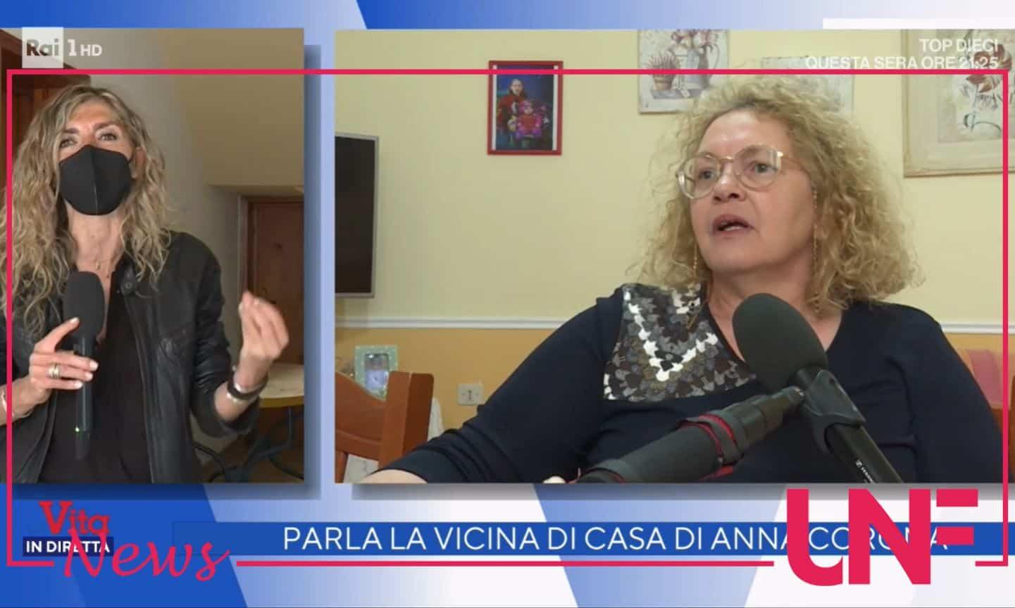 """La vicina di casa di Anna Corona: """"Mi dicono complice, assassina, io non c'entro niente"""""""