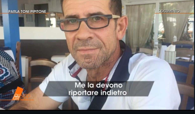 """Toni Pipitone a Quarto Grado: """"Sono io il padre di Denise"""""""