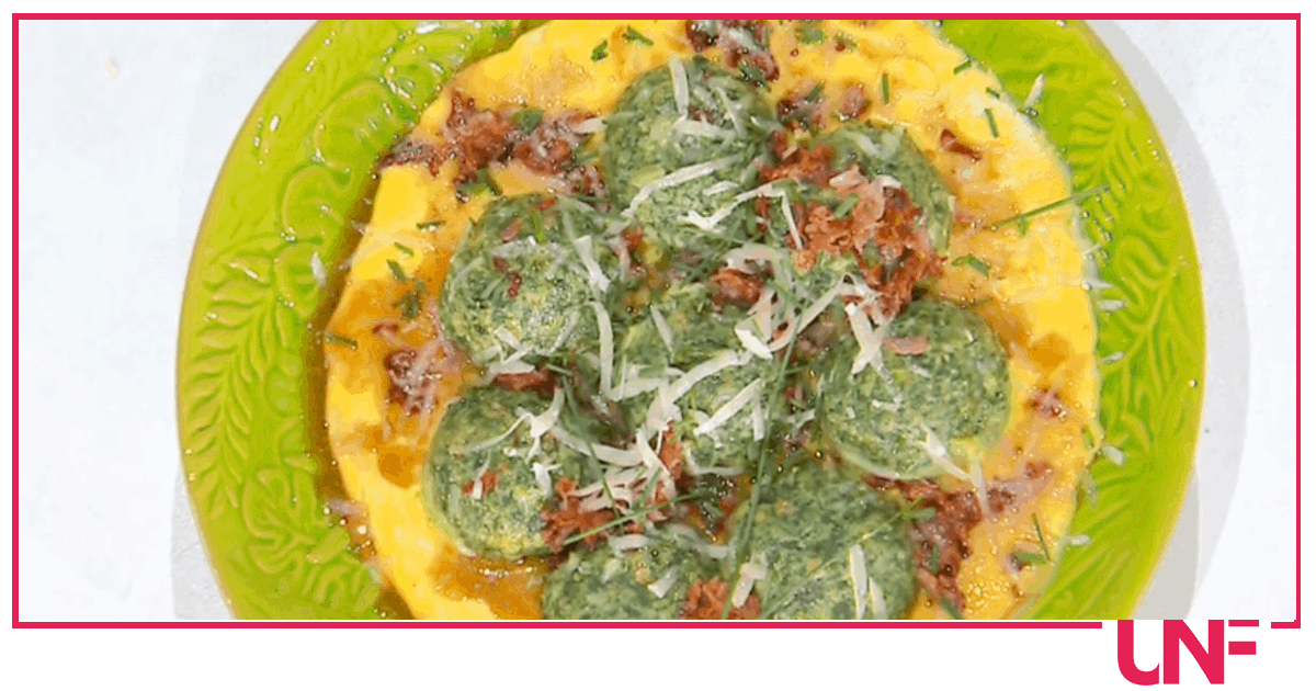 Canederli alle ortiche, la ricetta di Barbara De Nigris