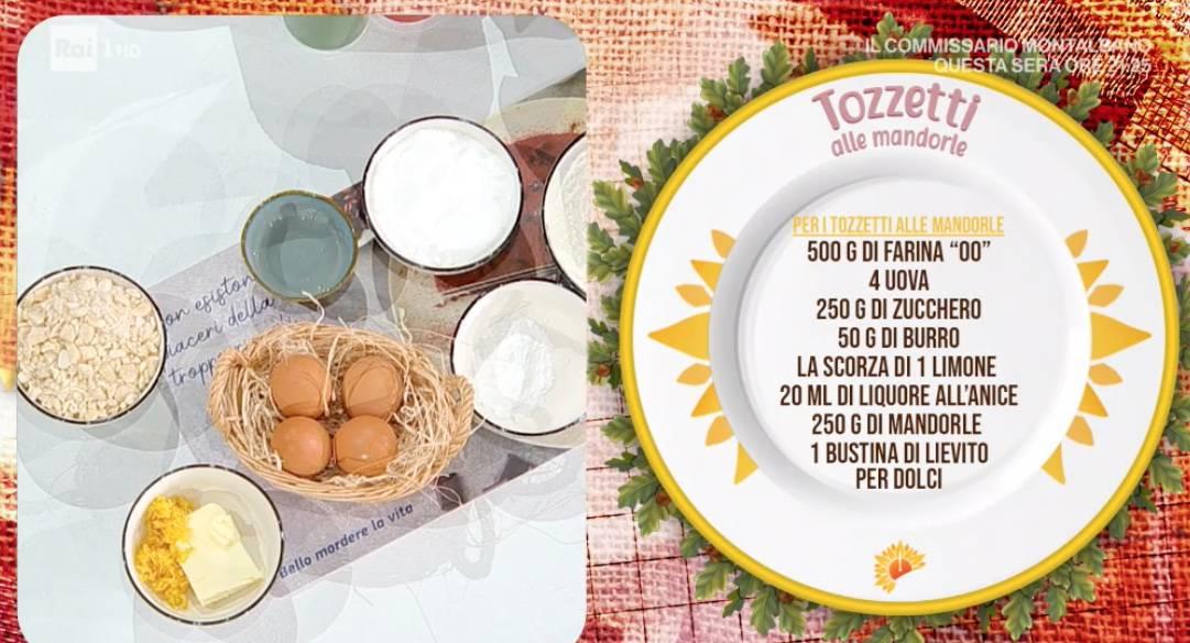 Tozzetti alle mandorle, crema cioccolato e mandorle: ricette di Zia Cri