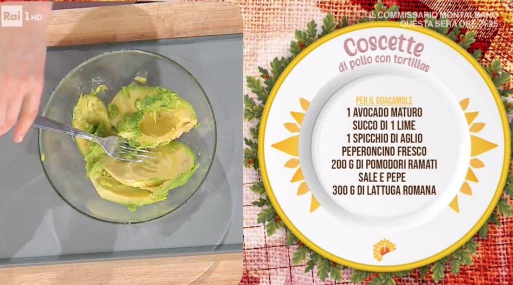 Cosce di pollo con tortillas, ricetta di Francesca Marsetti