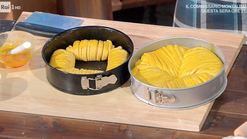 Pan di lana è la ricetta dolce di Fulvio Marino con ripieno di marmellata