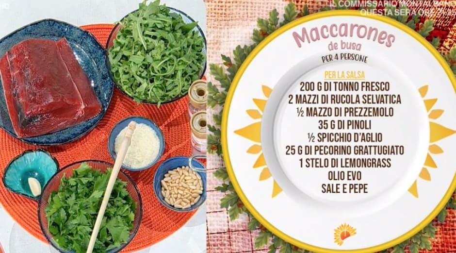 Maccarones de busa, la ricetta sarda di Michele Farru