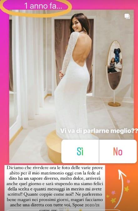 Giorgia Palmas mostra le prove dell'abito da sposa e rivela l'odissea delle nozze (Foto)