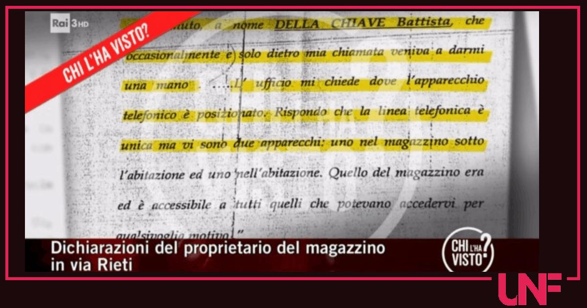 Denise Pipitone ultime notizie: Battista della Chiave poteva essere nel magazzino il giorno della scomparsa