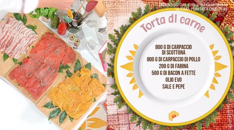 Torta di carne, la golosa ricetta di Simone Buzzi