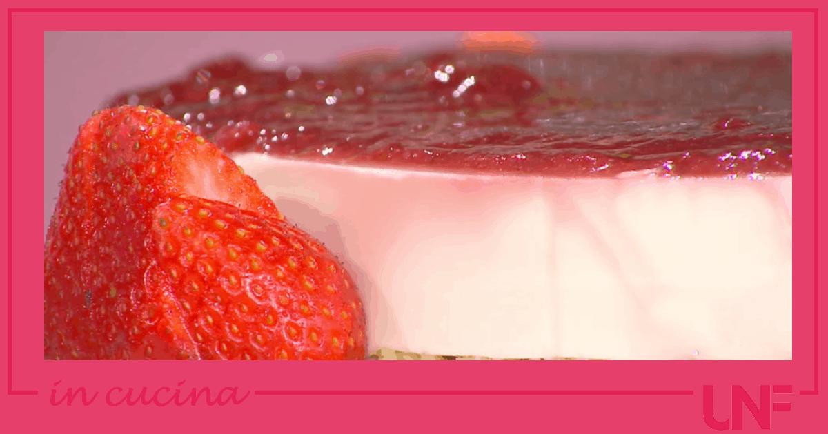 Cheesecake pugliese, ricetta torta con le fragole di Antonella Ricci