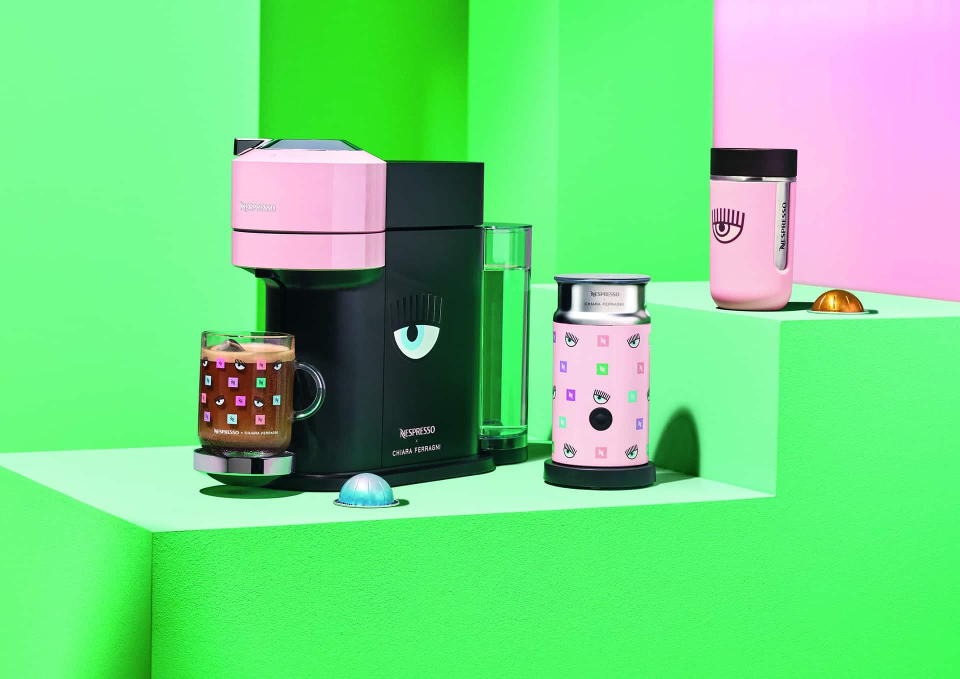 La summer collection Nespresso firmata Chiara Ferragni: una linea vivace e frizzante