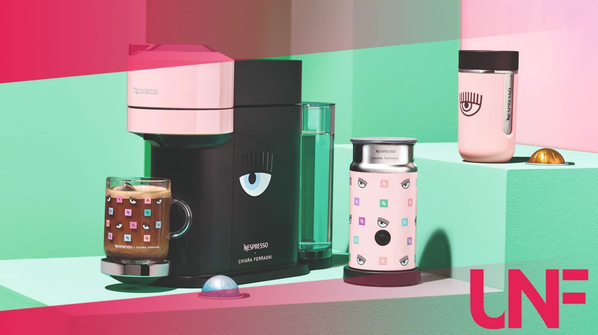 La summer Collection Nespresso by Chiara Ferragni: tutti i prodotti